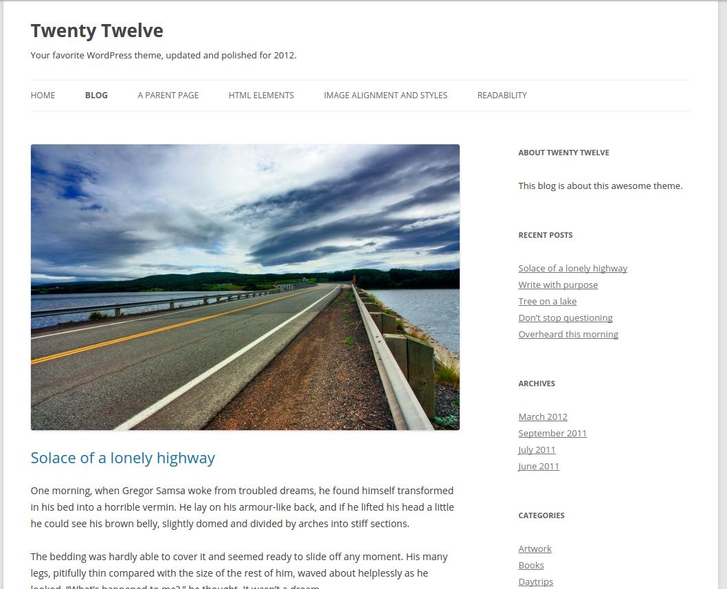 twentytewelve-blog